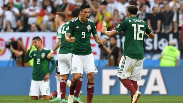 Mexico Delivers 'Biggest Win Of Its Modern World Cup History' With Victory Over Germany - IMAGE