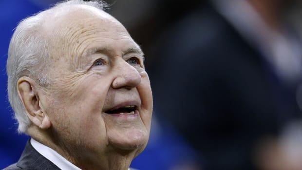 Saints, Pelicans Owner Tom Benson Dies At 90--IMAGE