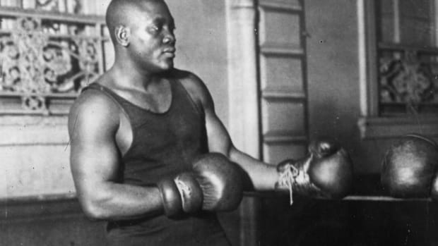 President Trump Pardons Boxer Jack Johnson Posthumously--IMAGE