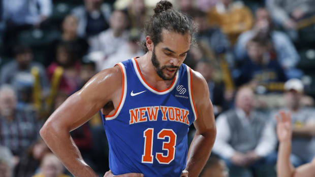 Knicks, Joakim Noah Agree on Indefinite Leave - IMAGE