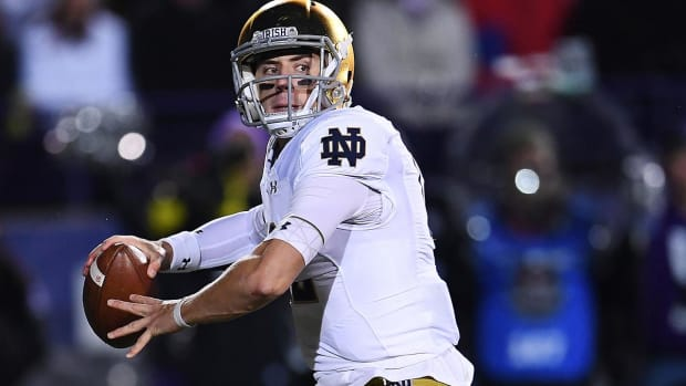 Reports: Notre Dame QB Ian Book Out for Game vs. Florida State