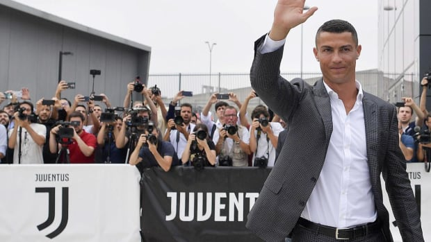 Cristiano Ronaldo Introduced at Juventus Following Real Madrid Transfer - IMAGE