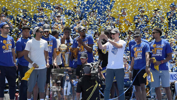 Warriors Will Not Visit White House, Still Plan on D.C. Trip--IMAGE