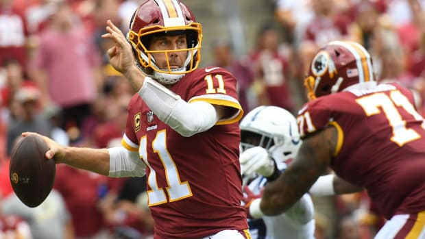 Report: Redskins QB Alex Smith Battling Infection From Surgery