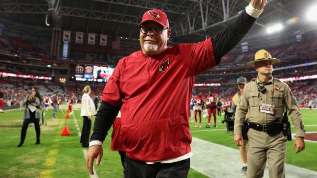 Cardinals Coach Bruce Arians Retires - IMAGE