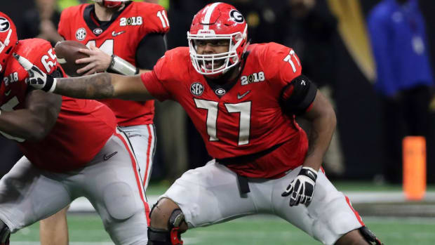 PFF: New Patriots Offensive Lineman Isaiah Wynn 'Has Tackle Skills' - IMAGE