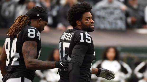 Former Raiders WR Michael Crabtree Signs Three-Year Deal With Ravens--IMAGE