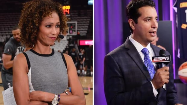Report: Sage Steele, Kevin Negandhi To Replace Michael Smith, Jemele Hill On 6 P.M. SportsCenter - IMAGE