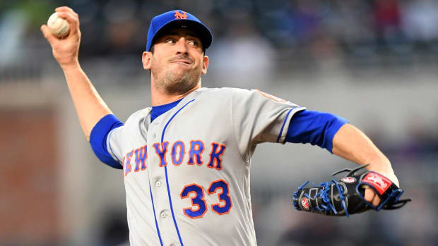 Mets Pitcher Matt Harvey Refuses To Go To Minors, Will be Designated For Assignment--IMAGE