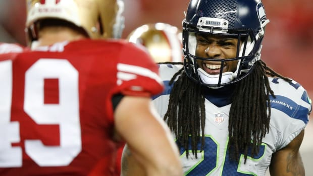 Report: Richard Sherman to Sign Three-year Deal With 49ers--IMAGE
