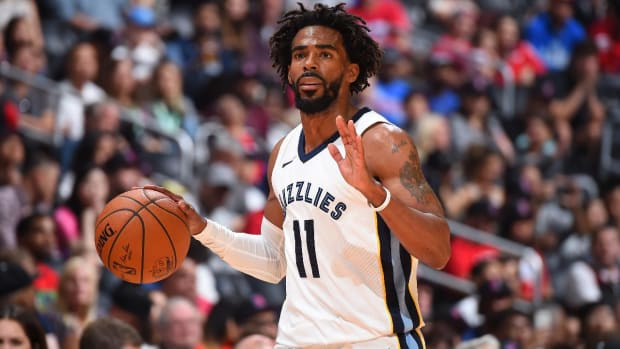 Grizzlies Point Guard Mike Conley to Miss Rest of Season--IMAGE