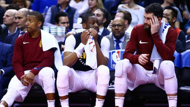 Report: Cavaliers Questioned Legitimacy of Kevin Love's Illness--IMAGE