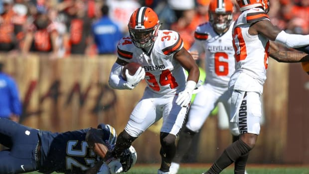 Browns Trade RB Carlos Hyde to Jaguars for Fifth-Round Pick - IMAGE