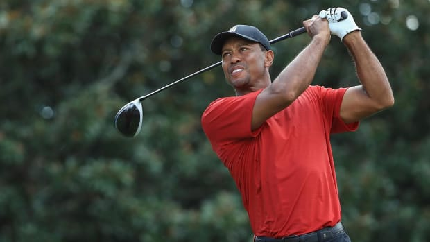Tiger Woods Wins Tour Championship, His First Tournament Win Since 2013--IMAGE