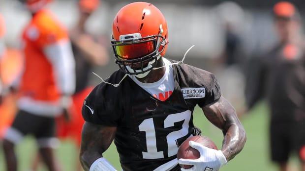 Browns Activate Wide Receiver Josh Gordon - IMAGE