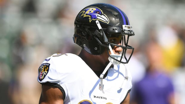 Ravens cornerback Marlon Humphrey Charged With Robbery--IMAGE