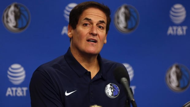 Mark Cuban to Donate $10 Million After NBA's Investigation Into Workplace Misconduct--IMAGE