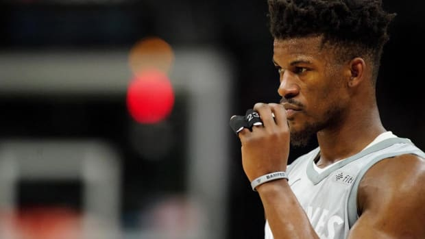 Report: Jimmy Butler Won't Be at Timberwolves Media Day, Start of Training Camp  - IMAGE