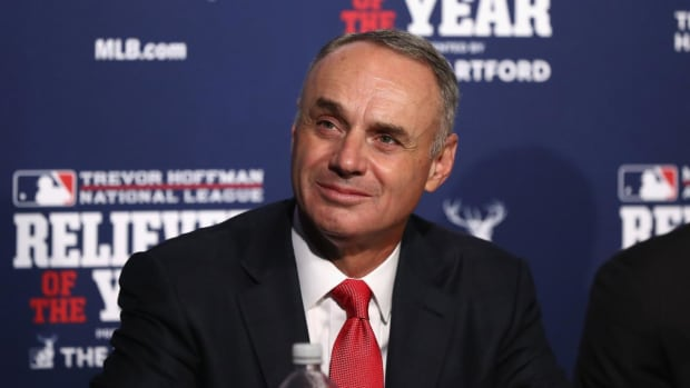 Commissioner Rob Manfred Listed Las Vegas and Portland Among Six Potential Expansion Locations - IMAGE