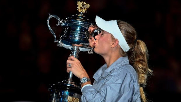 Caroline Wozniacki Wins Australian Open, Captures Her First Career Grand Slam--IMAGE