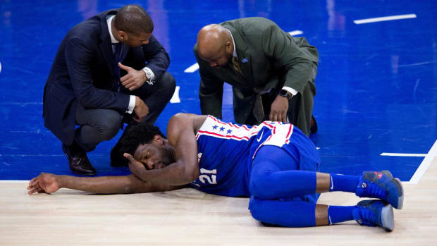 Joel Embiid Diagnosed With Concussion, Will Undergo Surgery For Orbital Fracture--IMAGE