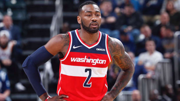 Report: Wizards PG John Wall to Likely Undergo Heel Surgery, Could Miss Rest of Season - IMAGE