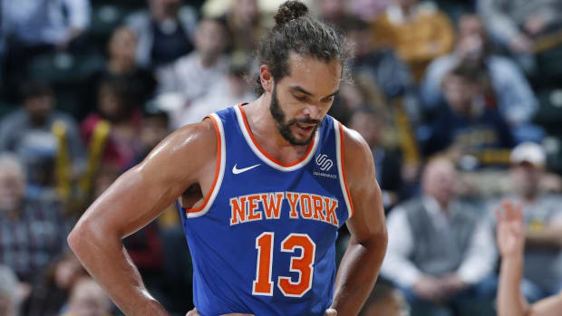 Report: Knicks Looking To Part Ways With Joakim Noah After Argument With Jeff Hornacek - IMAGE