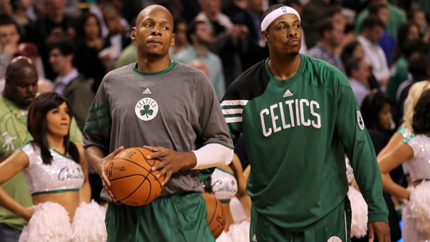 Ray Allen Posts Heartfelt Message to Paul Pierce on Instagram - IMAGE