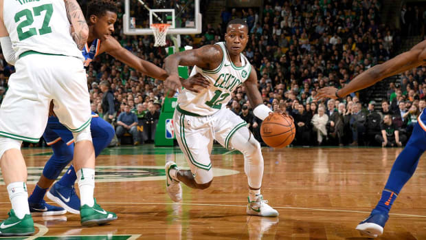 Celtics' Terry Rozier Records Second Triple-Double For Player in First Career Start Since 1970 - IMAGE