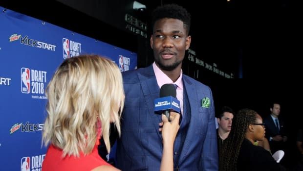 Suns Select DeAndre Ayton with No. 1 Pick in 2018 NBA Draft  - IMAGE