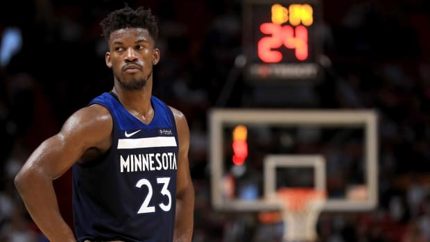 Pat Riley Told Heat Players He's 'Pulling the Plug' on Jimmy Butler Deal - IMAGE