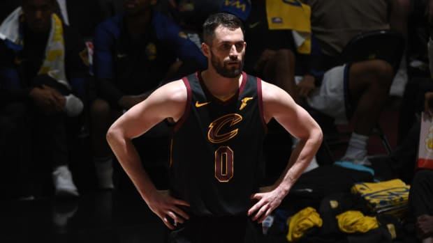 Kevin Love Wants To Remain In Cleveland With LeBron James--IMAGE