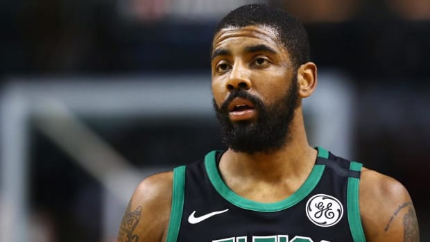 Report: Celtics' Kyrie Irving Getting Second Opinion On Knee - IMAGE