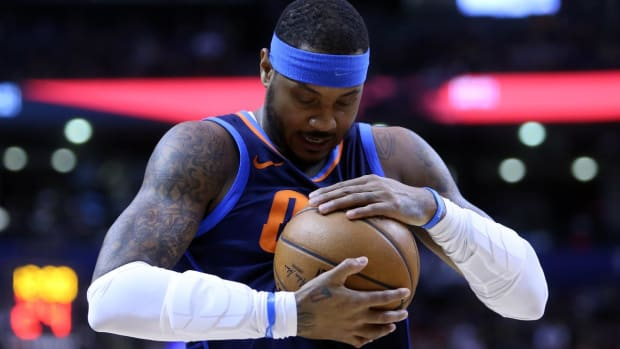 Report: Carmelo Anthony to Sign With Rockets After Hawks Buyout - IMAGE