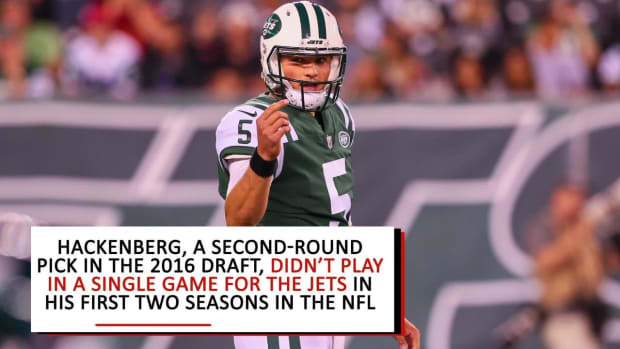 Jets Trade Former Second-Round Pick Christian Hackenberg to Raiders - IMAGE