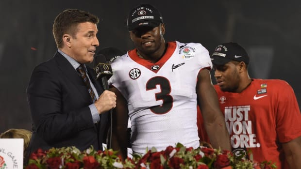 Georgia LB Roquan Smith Declares for NFL Draft - IMAGE