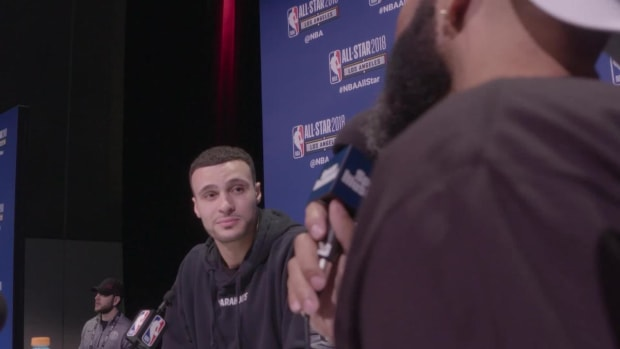 Larry Nance, Jr. Debates Which City is His Favorite: Cleveland or Los Angeles? - IMAGE