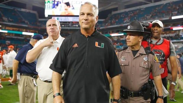 Following Disappointing Season, Mark Richt Steps Down as Miami Head Coach