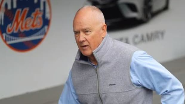 Mets GM Sandy Alderson Taking Leave of Absence After Cancer Relapse--IMAGE