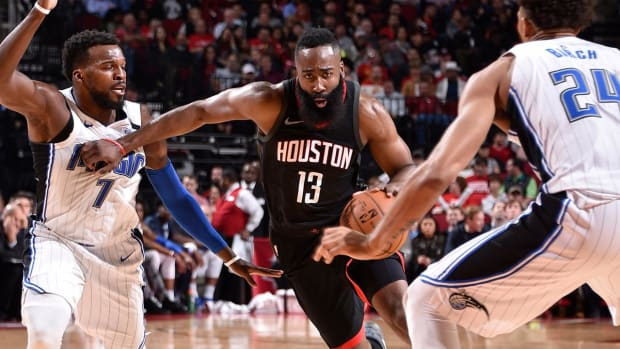 James Harden Sets Rockets Single-Game Record With 60-Point Performance - IMAGE