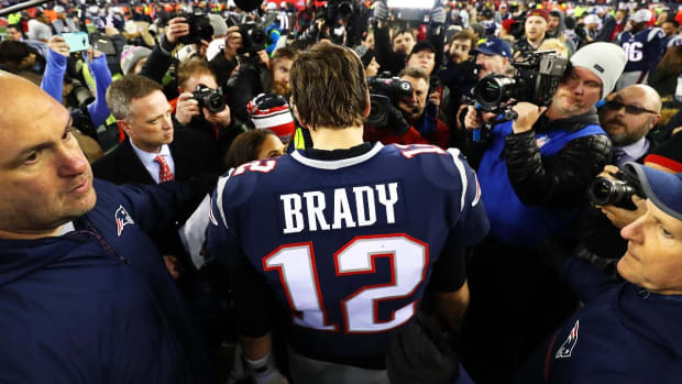 Patriots QB Tom Brady Wins His Third MVP Award--IMAGE