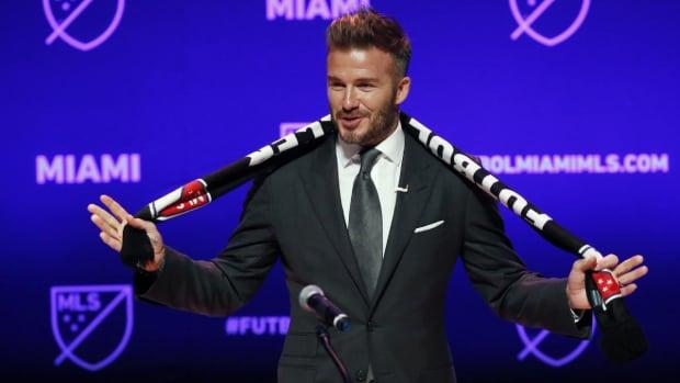 MLS Awards David Beckham His Miami Expansion Franchise at Last - IMAGE