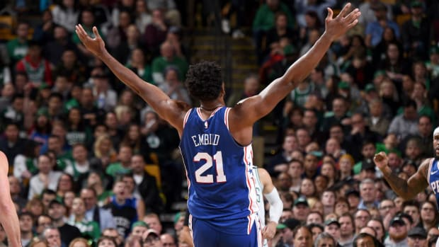 Joel Embiid is Finally an All-Star But He's 'Onto the Next One' When it Comes to Rihanna - IMAGE