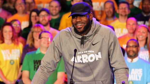 LeBron James Opens I Promise School on Monday - IMAGE
