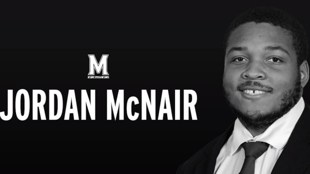 Maryland OL Jordan McNair Dies After Being Hospitalized Last Month Following Team Workout - IMAGE