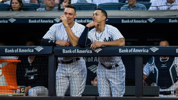 Aaron Judge, Giancarlo Stanton Out Of Home Run Derby--IMAGE