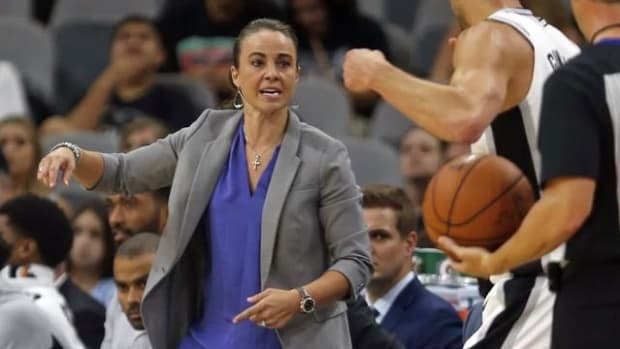 Spurs Promote Becky Hammon To Top Assistant, Replaces James Borrego--IMAGE