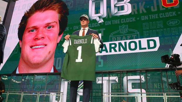 Sam Darnold Drafted By New York Jets With No 3 Pick