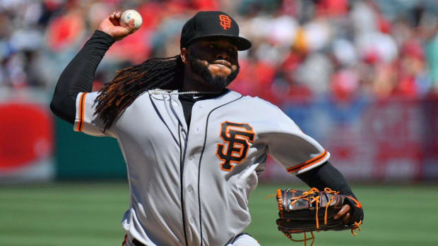 Giants' Johnny Cueto To Undergo Tommy John Surgery--IMAGE