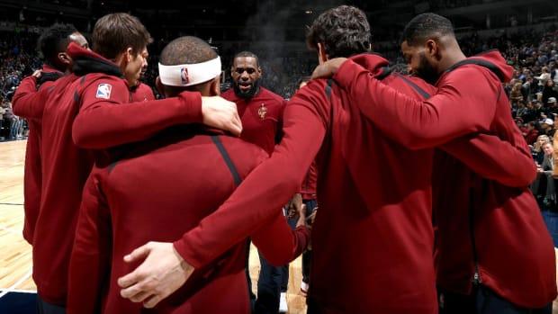 LeBron James, NBA Teams Honor Dr. Martin Luther King Jr. - IMAGE